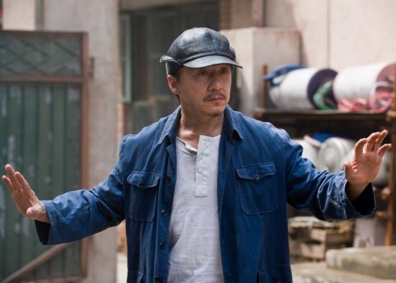 Jackie Chan interpreta o sério Sr. Han no remake de ''Karate Kid''