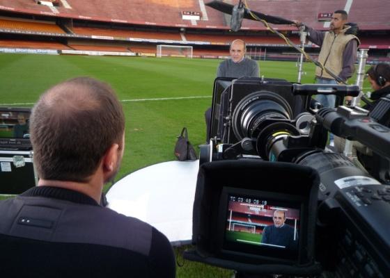 Waldir Peres é entrevistado para o documentário ''Soberano - Seis Vezes São Paulo''