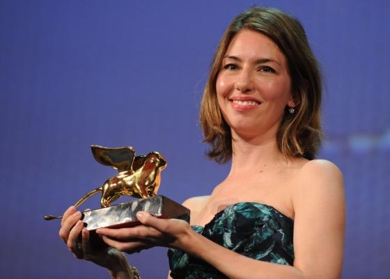 Sofia Coppola é premiada com o Leão de Ouro pelo filme Somewhere, no Festival de Veneza (11/09/2010)