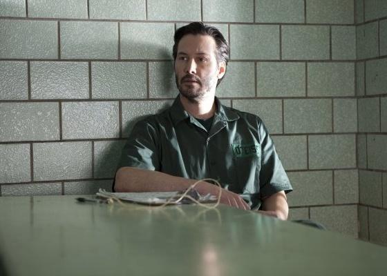 Keanu Reeves em cena do filme