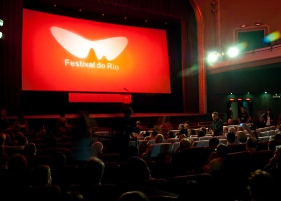 Interior do cine Odeon, na Cinelândia, centro do Rio, durante o Festival do Rio 2010