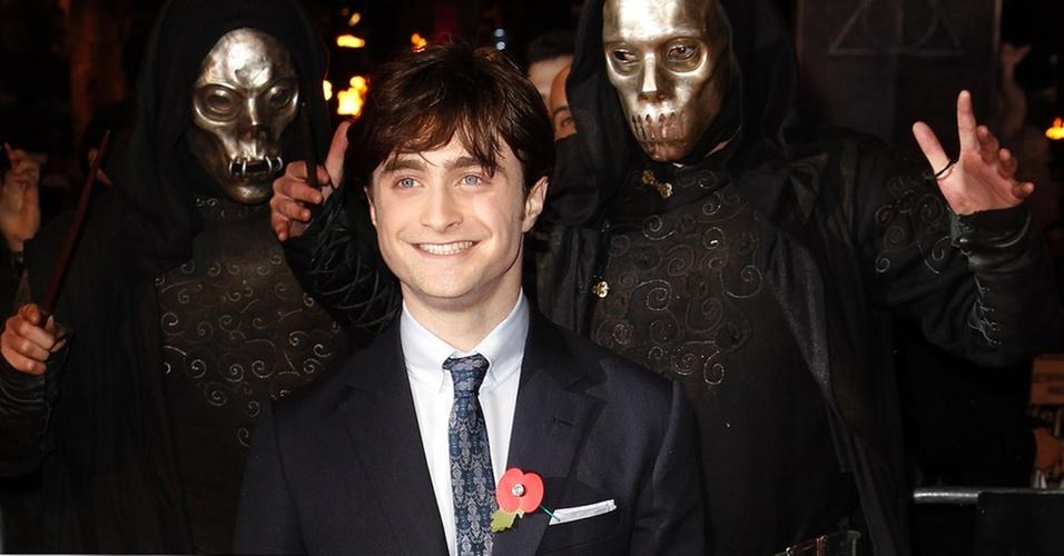 Daniel Radcliffe na pré-estreia mundial de
