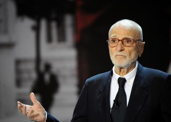 Mario Monicelli  participa de festival de cinema espanhol em imagem de setembro de 2008 - Getty Images