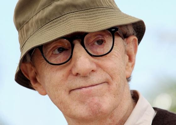 O diretor Woody Allen durante o Festival de Cannes, na França, em maio de 2010  - Getty Images