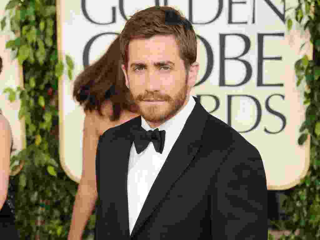 """Jake Gyllenhaal, indicado a Melhor Ator de Comédia ou Musical por """"Amor e Outras Drogas"""" (16/01/2011) - Jason Merritt/Getty Images"""