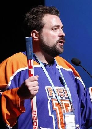"""O diretor Kevin Smith apresenta o polêmico """"Red State"""" durante o Festival de Sundance (23/01/2011) - AP"""