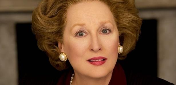 "Meryl Streep interpreta Margaret Thatcher em ""A Dama de Ferro"""