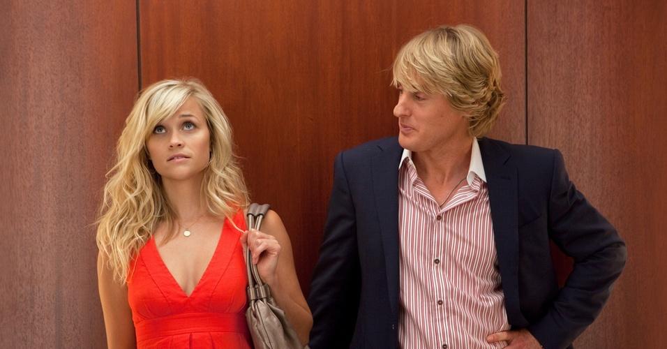 Reese Witherspoon e Owen Wilson vivem romance em ''Como Você Sabe