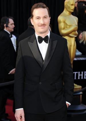 """Darren Aronofsky, indicado como diretor de """"Cisne Negro"""", chega à cerimônia do Oscar (27/02/2011)"""