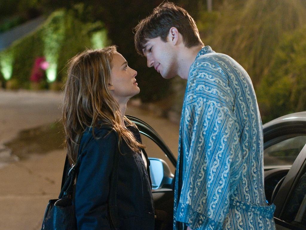 Natalie Portman e Ashton Kutcher contracenam em