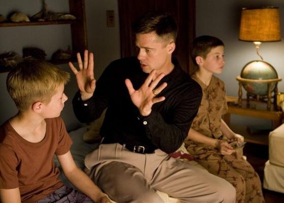 """Brad Pitt em cena do filme """"""""A Árvore da Vida"""""""" - Divulgação"""