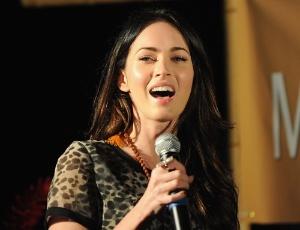 A atriz Megan Fox durante o Maui Film Festival, no Havaí (15/6/11)