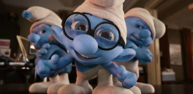 """Cena de """"Os Smurfs"""""""