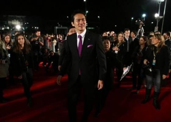 O ator Tsuyoshi Ihara, que vive o protagonista Takahashi no longa Corações Sujos; filme representa o Brasil em Montreal
