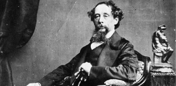 O autor Charles Dickens - Reprodução