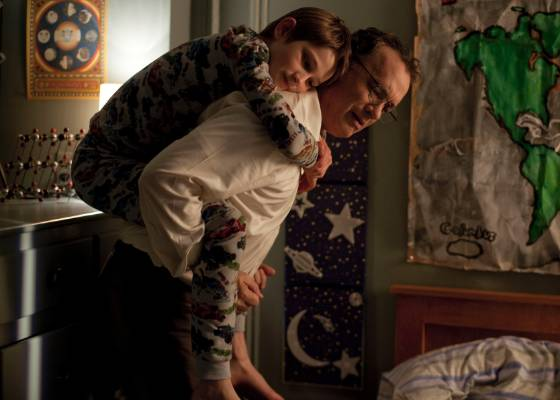 "Cena do filme ""Extremely Loud and Incredibly Close"""