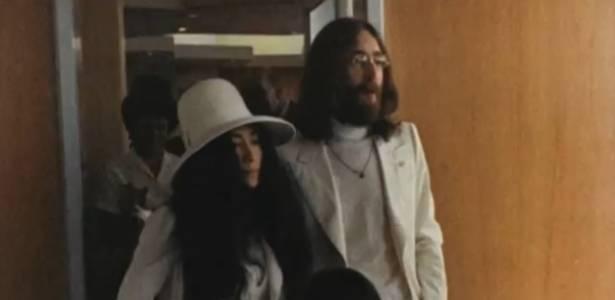 """Yoko Ono e John Lennon em imagem do documentário """"Bed Peace"""" (1969)"""