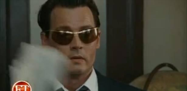 Johnny Depp em cena de The Rum Diary (ago/2011)