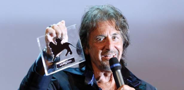 Al Pacino agradece homenagem que ganhou pelo conjunto de sua obra no festival de Veneza  (4/9/11) - AP