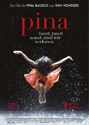 Cartaz do documentário Pìna, de Win Wenders