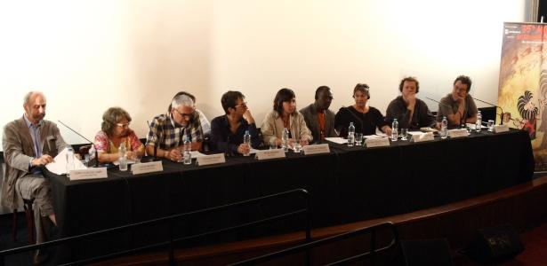 Entrevisa coletiva do júri da Mostra de São Paulo 2011, no Frei Caneca Unibanco Arteplex (29/10/11)