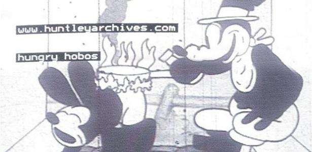 Imagem do personagem Hungry Hobos, um dos primeiros personagens da Walt Disney