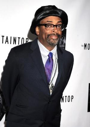 O diretor Spike Lee durante evento em Nova York (13/10/11)