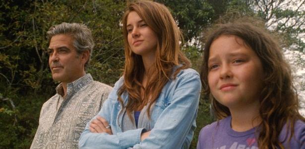 """Cena do filme """"Os Descendentes"""", que levou o prêmio de melhor roteiro adaptado de cinema - EFE"""