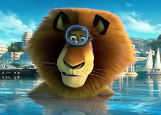 """Cena do filme """"Madagascar 3: Os Procurados"""""""