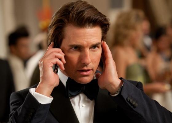 Tom Cruise em Missão: Impossível 4