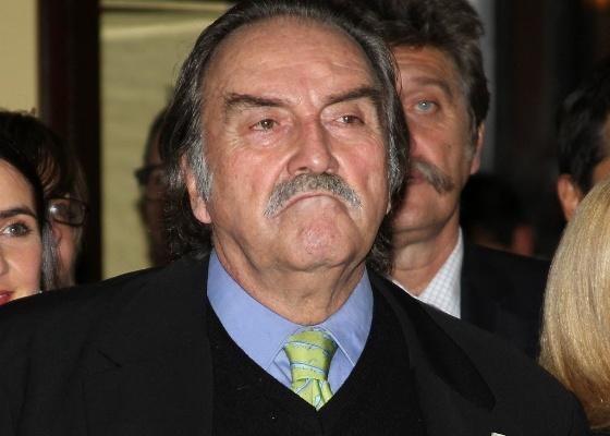 O ator Pedro Armendáriz em evento no México