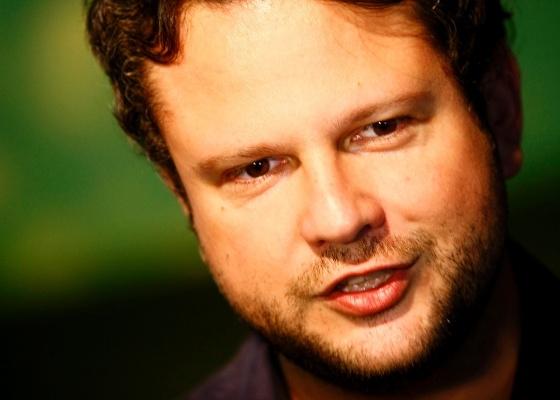 O ator Selton Mello na abertura da 15ª Mostra de Cinema de Tiradentes (20/1/12)