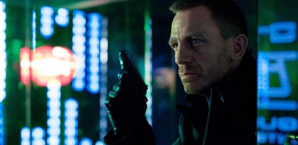"""Daniel Craig em cena """"007 - Operação Skyfall"""", novo filme de James Bond"""