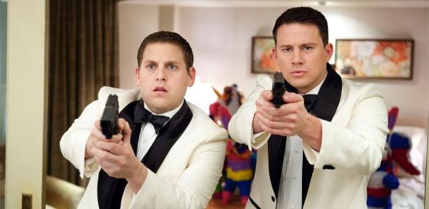 """Jonah Hill e Channing Tatum em cena de """"21 Jump Street"""", de Phil Lord e Chris Miller"""