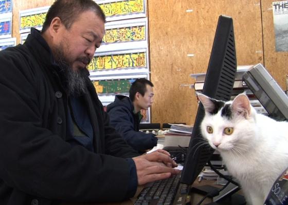 """Cena do documentário """"Ai Weiwei: Never Sorry"""""""