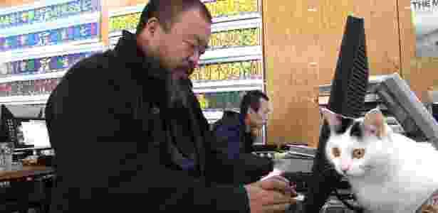 """Cena do documentário """"Ai Weiwei: Never Sorry"""" - Divulgação"""