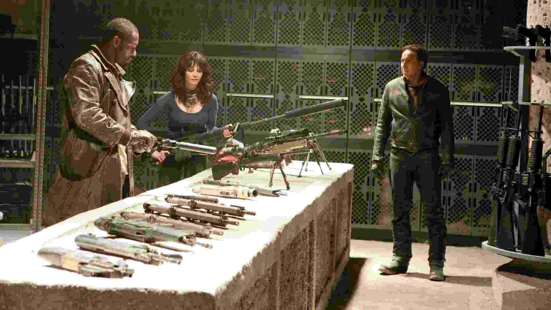 """Cena do filme """"Motoqueiro Fantasma 2: Espírito de Vigança"""", com Nicolas Cage - Divulgação"""