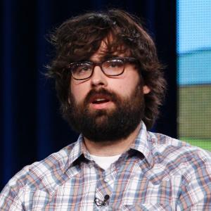 Diretor Jared Hess em evento promovido pela Fox em Pasadena, na California (8/1/12)