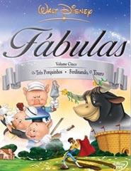 Fábulas Volume Cinco, Os Três Porquinhos - Ferdinando, O Touro