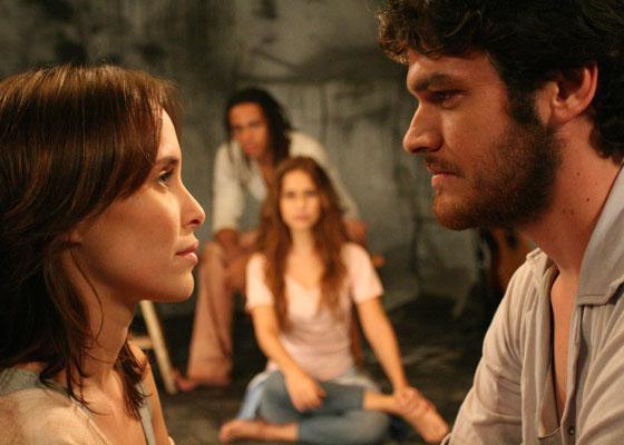 Cena de ''Léo e Bia'', filme dirigido por Oswaldo Montenegro