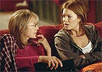 Diane Keaton e Mandy Moore, mãe e fillha no filme
